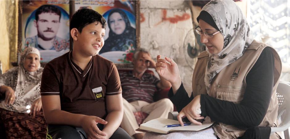 Verwendung von Zakat für Kriegsopfer und traumatisierte Kinder