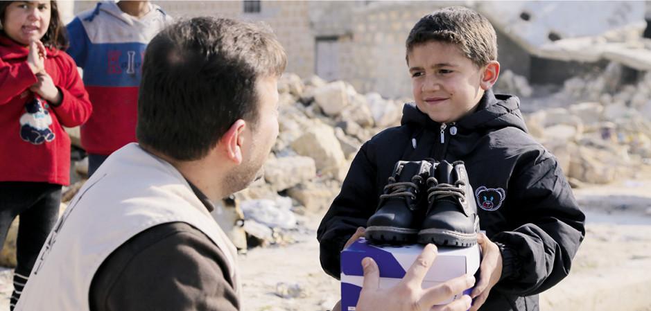 Verwendung von Zakat für Flüchtline aus Syrien